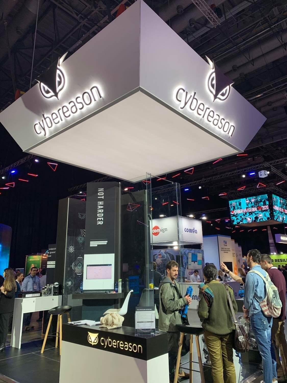 2020年1月30日に開催されたカンファレンス「CyberTech」に出展するCybereason