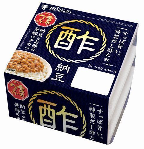 ミツカン「金のつぶ 酢納豆」