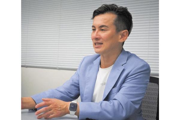 森下 洋次郎会長(44)